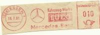 Nice Cut Meter  Mercedes Benz Fahrzeug-Werke Essen, 18/7/1961 - Auto's