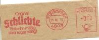 Nice Cut Meter  Orginal SCHLICHTE Trinke Ihn Massig Aber Regelmassig, Steinhagen 25/10/1979 - Dranken