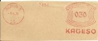 Nice Cut Meter KAGESO, Berlin 3/6/1931 - Andere