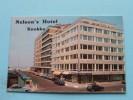 """"""" NELSON'S """" Hotel ( Prop. R. Goethals ) KNOKKE Meerminlaan 34 - Anno 19?? ( Zie Foto´s Voor Detail ) ! - Cartes De Visite"""