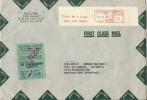 Cover First Class Mail CUSTUMS-DOUANE Meter Don't Be A Loner JOIN THE NMRA, Canton 8/9/1970 - Fabrieken En Industrieën