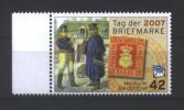 Deutschland Nordkurier 'Tag der Briefmarke, Postillon' / Germany 'Stamp Day, Postilion, Old Strelitz Stamp' **/MNH 2007