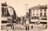 CPA LIMOGES. Place Denis Dussoubs, Perspective De La Nouvelle Gare D'orléans, Cafés Bourse, Préfecture, Victor, 1938 - Caffé