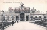 Bruxelles - La Gare Du Midi - 2 SCANS - Chemins De Fer, Gares
