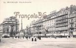 Bruxelles - Place Du Brouckère - 2 SCANS - Avenues, Boulevards