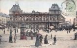 Bruxelles - La Gare Du Nord - 2 SCANS - Chemins De Fer, Gares