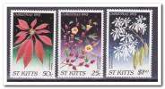 St. Kitts 1993, Postfris MNH, Flowers, Christmas - St.Kitts En Nevis ( 1983-...)