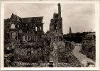 Photographie Originale - Vue De La Cathédrale De Soissons En Ruines - Guerre, Militaire