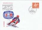 AUT-L100 - SUISSE Env. Illustrée Du Championnat De SKIBOB à Montana-Crans 1969 - Ski