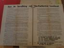 Sint Katarina Lombeek - Ternat - Wambeek ; Oud Verkiezingesdrukwerk -tientallen -1953 - Historical Documents