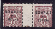 WALLIS & FUTUNA 1920 - N° 2 - Paire Avec Pont - Neuve* (2 Scans) - Wallis And Futuna