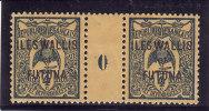 WALLIS & FUTUNA 1920 - N° 3 - Paire Avec Millésime - Neuve* (2 Scans) - Airmail