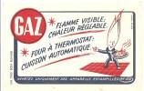 Buvard GAZ Flamme Visible Chaleur Réglable Four à Thermostat Cuisson Automatique - Electricité & Gaz