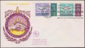 Nouvelles-Hébrides 1965 Y&T 223/4. Année De La Coopération, Sur FDC - Joint Issues
