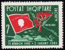 1963. Stalingrad. Air Mail. 7 L. (Michel: 726) - JF180786 - Albanien