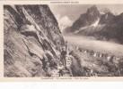 Cp , 74 , CHAMONIX , Le Mauvais Pas , Mer De Glace - Chamonix-Mont-Blanc