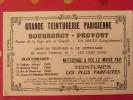 Buvard Grande Teinturerie Parisienne Boussenot-Provost. La Baule (44). Vers 1950 - Textile & Vestimentaire
