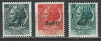 Italy-Italia Trieste A. Scott #  170-72 MLH. Definitive Issue. 1953 - Ungebraucht