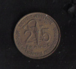 FRANCE WEST AFRICA 25 FRANCS 1957 RARE - Colonies