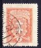 LITUANIE 1929-31 YT N0 283A Obl.
