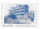 VENCE (06) Carte Publicitaire Hostellerie Ad Astra - Vence