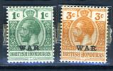 1917 - BRITISH HONDURAS (BELIZE) - Catg. Mi. 80/81 -  NH - (T15112015..) - British Honduras (...-1970)