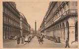 Dép. 75. - Paris... En Flânant. - Rue De Castiglione Et Colonne Vendôme. Animée, Automobliles. Yvon N° 59 - District 01
