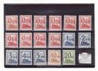 France colis postaux neufs sans charni�re   n�31 � 47  s�rie compl�te 17 valeurs c�te Yvert et Tellier 2015 : 500 �