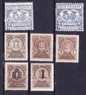 1928 1945  RECAPITO AUTORIZZATO Serie Completa   NUOVO - 1900-44 Vittorio Emanuele III