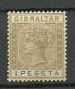 GIBRALTAR 1895 Michel 31 Königin Victoria (*) - Gibraltar