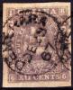 British Guiana 12c Colony Seal Imperforate Used. - Guyana Britannica (...-1966)