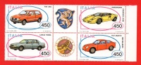 1985 Costruzioni Automobilistiche Italiane In Blocco - Nuovo  (leggi Messaggio Del Venditore) - 6. 1946-.. Repubblica