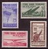 1961 TURKEY THE 17TH GRAND CONGRESS OF TURKISH AIR ASSOCIATION MINT WITHOUT GUM - 1921-... République