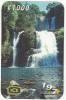 COSTA RICA - Waterfall, Cataratas de Nauyaca, ICE Tel prepaid card C 1000, 09/01, used