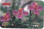 COSTA RICA - Flowers of Costa Rica, ICE Tel prepaid card C 3000, 07/02, used