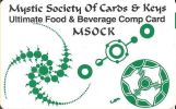 MSOCK Unlimited Food & Beverage Comp Card - Casino Cards