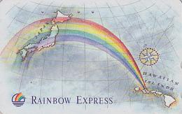 Télécarte Japon / 110-011 - HAWAII - RAINBOW EXPRESS - Japan USA Related Phonecard Telefonkarte - 223 - Hawaii