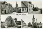 Hénansal - Multivues - écrite Non Timbrée- 2 Scans - Autres Communes