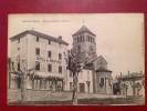 69 Rhone SALLES EN BEAUJOLAIS Eglise Et Place Du Chapitre (Hotel) - Andere Gemeenten