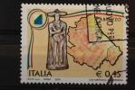 ITALIA USATI 2004 - REGIONI D´ITALIA ABRUZZO - RIF. G 1525 - QUALITA´ LUSSO - 6. 1946-.. Repubblica