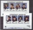 AZ 1995-206-13 SPACE, ASREBEDIAN, 2S/S, MNH - Azerbaïdjan