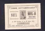 Carnet complet timbres antituberculeux Jeux sant� Noel Nouvel An 1933 1934 Secteur du Timbre de Nancy num�rot� 2843