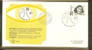 1987 - Envelop Zegelkoerier NPS 87/50 - Intern. Postz.tent. Hafnia 87 - Kopenhagen [Z09_50] - Periode 1980-... (Beatrix)