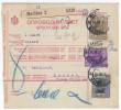 Yugoslavia Kingdom 1929 Sprovodni List - Parcel Card Maribor - Zagreb B151123 - 1931-1941 Kingdom Of Yugoslavia