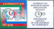 AZ-2009 90A°DIPLOMATIC SERVICE , ASERBEDIAN, 1 X 1v, MNH - Azerbeidzjan