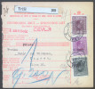 Yugoslavia Kingdom 1928 Sprovodni List - Parcel Card Trzic - Zagreb B151123 - 1931-1941 Kingdom Of Yugoslavia