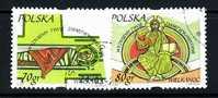 POLAND 2000 MICHEL No: 3817 - 3818 USED /zx/ - 1944-.... Republik
