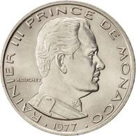 Monaco, Rainier III, 1 Franc 1977, KM 140 - 1960-2001 Nouveaux Francs