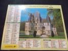 Calendrier Des Postes PTT 2000 Chateau De Bazouges Chateau D O - Calendriers