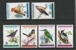KOREA - YVERT N° 1972/1977 NEUFS ** - MINT MNH - BIRDS - OISEAUX - Corée Du Nord